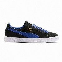 プーマ Clyde ユニセックス Puma Black-Electric Blue Lemonade