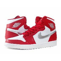NIKE AIR JORDAN 1 RETRO HI ナイキ エア ジョーダン 1 レトロ ハイ GYM RED/METALLIC SILVER/WHITE