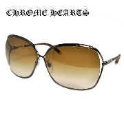 クロムハーツ サングラス Chrome Hearts ChromeHearts FISH EYE CB Chocolate Brwon【レディース】UVカット