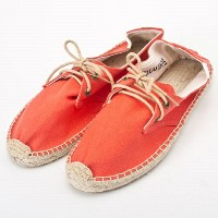 SOLUDOS ソルドス エスパドリーユ レースアップ Lace Up Canvas Derby Tangerine サイズ:36