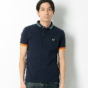 【16SS】TIPPED PIQUE SHIRT/フレッドペリー(メンズ)(FRED PERRY)