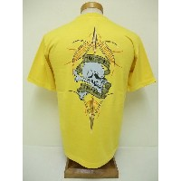 INDIAN MOTORCYCLE[インディアンモーターサイクル] Tシャツ TERRY'S CYCLE SHOP (YELLOW)