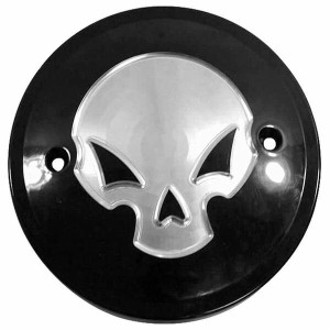 【USA在庫あり】 66-1323 RF-3603 RF CUSTOM PARTS RF ALIEN SKULL DERBY CVR BLK