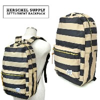 Herschel Supply(ハーシェル サプライ) Settlement BackPack リュック バックパック バッグ FIELD COLLECTION 【あす楽対応】【RCP】