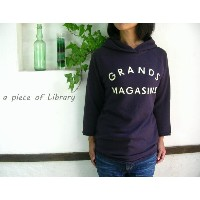 a piece of Library ア ピース オブ ライブラリー GRANDS ラフパーカー