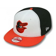 NEW ERA BALTIMORE ORIOLES 【REPLICA HOME SNAPBACK/WHT-BLK-ORG】 ニューエラ バルティモア オリオールズ 9FIFTY スナップバック ...