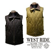 【WESTRIDE ウエストライド】ベスト/MID VENTILE VEST★送料・代引き手数料無料!REAL DEAL