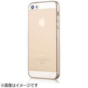 BELEX iPhone SE / 5s / 5用 Devia Naked series 0.5mm TPU クリスタルクリア BLDV-128CL