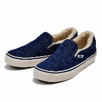 【VANS】 ヴァンズ SLIP ON スリッポン V98CL RANCH 15FA BLUE DENIM