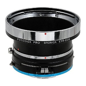 Fotodiox プロ レンズ Shift Adapter Bronica ETR Lenses to Fujifilm X Mirrorless Cameras (i.e. X-Pro1, X...