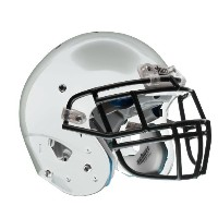 Schutt Youth エアー XP Football ヘルメット without Faceguard (Met シルバー, Small) (海外取寄せ品)