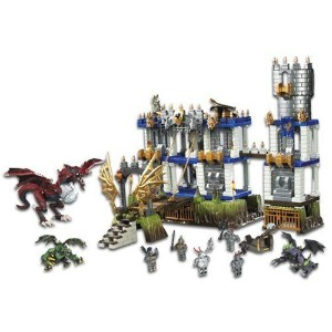 MEGA BLOKS DRAGONS Battlestorm Castle #96001U