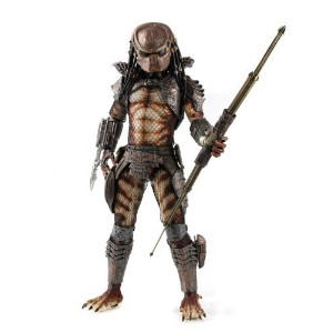 Neca Predators 2 Series 1 - 1/4 Scale Masked City Hunter Predator Action Figure - 5000 Worldwide O