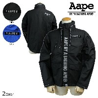 Aape BY A BATHING APE エイプ エーエイプ アベイシングエイプ ジャケット ウィンドブレーカー 2カラー AAPE N65 2LAYER WINDBREAKER...