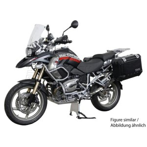 SW-MOTECH: BMW R1200GS (04-12) / R1200GS Adventure(06-13) TraX EVO パニアシステム 右45L 左37L ブラック