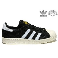 「Clearance Sale!」 adidas Originals CONSORTIUM SUPERSTAR 80S PRIME KNIT s77439 BLACK/WHITEアディダス オリジナルス コンソーシアム...