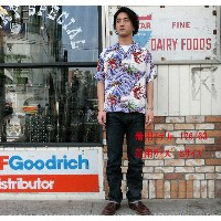 """No.SS36841 SUN SURF サンサーフS/S SHIRTS""""LOBSTERS MAKE UP THE FALL"""""""