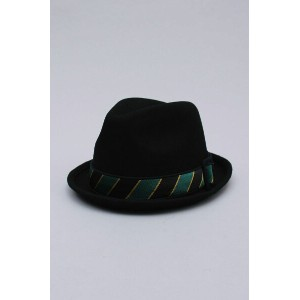 FEDORA WOOL SATIN BAND[E0000473] EK by NEW ERA(イーケー・バイ・ニュー・エラ)
