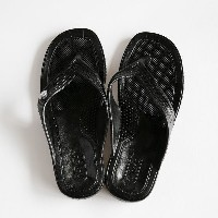 GLOCAL STANDARD PRODUCTS / G.S.P SANDALS (BK) L(25cm)【グローカルスタンダードプロダクツ/ブラック/サンダル/ギョサン/PEARL】[112154