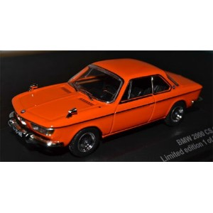 1/43 1966 BMW 2000 CS,Orange with black interior(再販)[TRIPLE 9 COLLECTION]《取り寄せ※暫定》