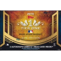 MLB 2015 TOPPS TIER ONE BASEBALL ASIA EXCULSIVE BOX(送料無料)