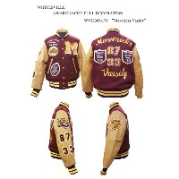 "WHITESVILLE ホワイツビルAWARD JACKT FULL DECORATION""Mavericks Varsity"" WV13365-170-15AW2015年モデル"