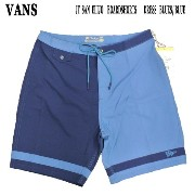 VANS/バンズ JT SAN ELIJO BOARDSHORTS Dress Blues/Blue Ashes 男性用 サーフパンツ ボードショーツ_02P01Oct16