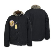 """【BUZZ RICKSON'S バズリクソンズ】ジャケット/BR13321 N-1 NAVY""""NAVY DEPERTMENT""""SNOOPY PATCH ★送料・代引き手数料無料!REAL DEAL"""