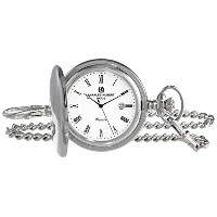送料無料 チャールズヒューバート Charles-Hubert, Paris 3915 Premium Collection Analog Display Quartz Pocket Watch ポケットウォッ...