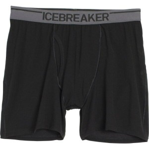 アイスブレーカー Icebreaker メンズ インナー ブリーフ【BodyFit 150 Ultralite Anatomica Boxer Brief】Black/Monsoon