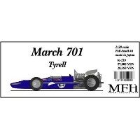 March701 Tyrell【1/20 K-229 Full detail kit】