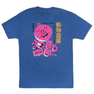【Out of Print】 George Orwell / 動物農場 Tee (Royal Blue)