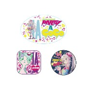 【1stPLACE】VOCALOID IA PARTY A GOGO 缶バッジセット (3個)[グッズ]