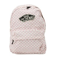レディース 【VANSアパレル】 ヴァンズ バッグ VANS CHECKERBOARD BACKPACK VN0005QPJ4P 16SP PEACH SKIN