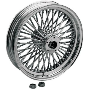 【Drag Specialties】 Fat Daddy 50スポーク リアホイール 18x5.5 ABS付用