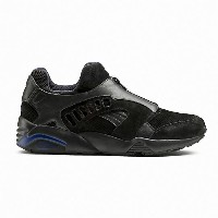 プーマ DISC ZIP FRENCH メンズ Puma Black-Mazarine Blue