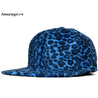 NEW ERA 【59FIFTY-BLANK ANIMAL PIMPIN-FUR/BLUE CHEETAH】 ニューエラ フラッグ 無地 59FIFTY フィッテッド FITTED CAP チーター...