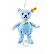 Steiff 238147 シュタイフ ぬいぐるみ テディベア 20cm Little Circus Teddy Bear Music Box for Newborn (Light Blue)