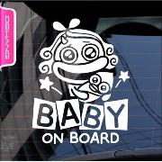DEAWANG BABY IN CAR 個性派デザイン (mom and baby on board)