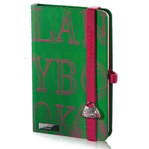 Lany book『4 Sexy Notes Only(Verde + Fucsia)』A6サイズ【Made in italy】《送料無料》《後払い対応》【文房具 文具 ステーショナリー ノート...