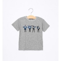 THE BEATLES:プリント TEE(100~130cm)【シップス/SHIPS Tシャツ・カットソー】