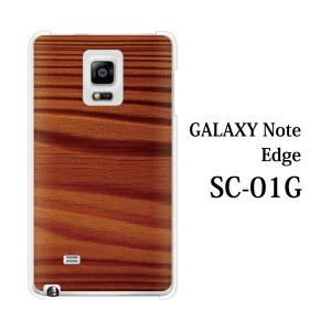 GALAXY Note Edge SCL24 木目 TYPE6 for au GALAXY Note Edge SCL24[ファブレット Phablet]【ギャラクシーノートエッジ カバー ケ-ス...