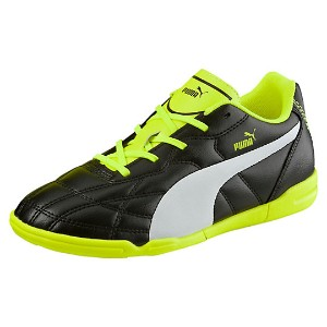 プーマ クラシコ IT JR ユニセックス Puma Black-Puma White-safety yellow