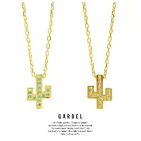 GARDEL ガーデル GDP-137 K18YG TO,ME,Collection Cactus Necklace サボテン ネックレス 18金 GOLD ゴールド