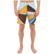 "ヴィスラ メンズ 水着 水着 Sun Rey 4-Way Stretch Boardshorts 18.5"" Dark Brown"