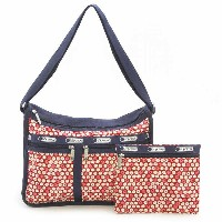 【40%OFF】LeSportsac 7507 D842 Travel Daisy Red デラックスエブリデイバッグ Deluxe Everyday Bag 女性用 レディース トートバッグ...