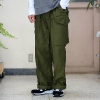 Dead Stock(デッドストック) / Canadian ARMY Wind Over Pants -ARMY GREEN-