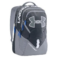 Under Armour Big Logo IV Backpack Stealth Gray/Steel/Royal アンダーアーマー バックパック リュックサック