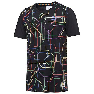 プーマ PUMA X DR TEE メンズ Puma Black-SUBWAY