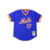 MITCHELL&NESS AUTHENTIC MESH BP JERSEY (NEW YORK METS 1986/KEITH HERNANDEZ/No.17: BLUE)ミッチェル&ネス...